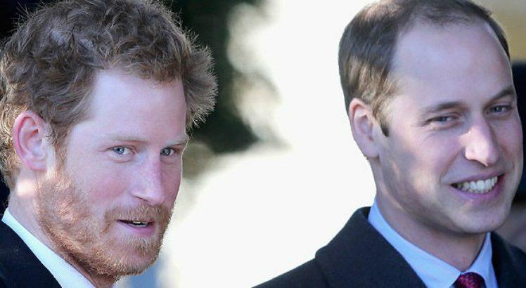 Príncipes Harry e William. Foto: Reprodução/Getty Images