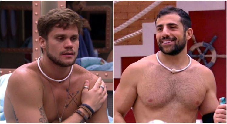 Breno e Kaysar disputam permanência no BBB18
