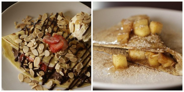 collage crepes doces