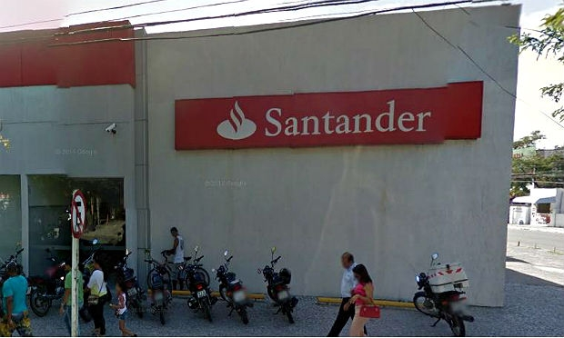 Ag ncia do banco santander arrombada em olinda ne10 for Banco santander maps