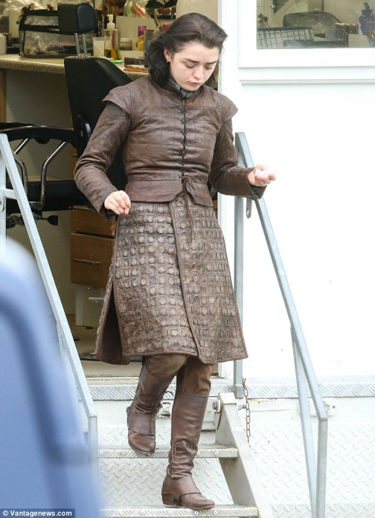 Arya Stark. Foto: Watchers on the Wall