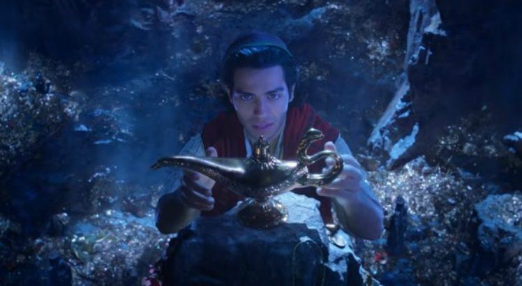 Disney divulga primeiro teaser do live-action de 'Aladdin'
