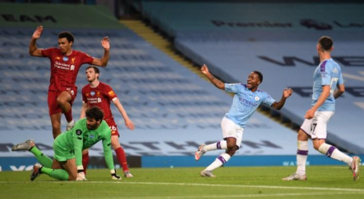 Liverpool-Manchester City- LAURENCE GRIFFITHS-POOL-AFP